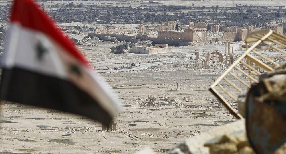 Syrische Armee in Palmyra