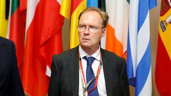 Ambasador Wielkiej Brytanii przy Unii Europejskiej Ivan Rogers zrezygnował ze stanowiska przed końcem kadencji - Sputnik Polska