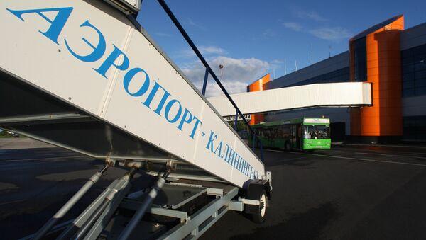 Międzynarodowe lotnisko w Kaliningradzie - Sputnik Polska