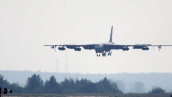 Amerykański strategiczny samolot bombowy B-52 - Sputnik Polska