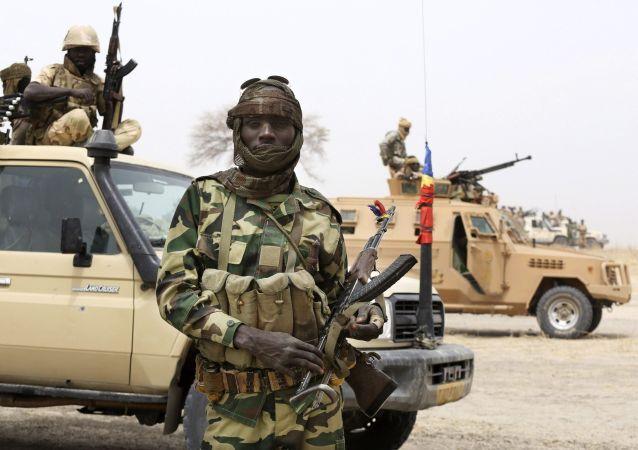 Czadyjski żołnierz