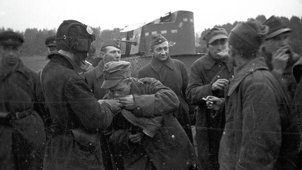 Polscy i radzieccy żołnierze na Białorusi, rok 1944 - Sputnik Polska