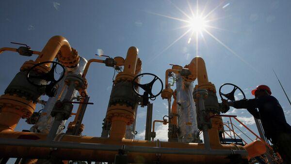 Stacja dystrybucji gazu Gazpromu - Sputnik Polska