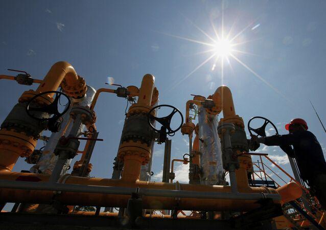 Stacja dystrybucji gazu Gazpromu