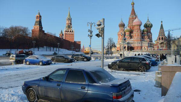 W Moskwie oraz w obrodach moskiewskim i kostromskim z powodu silnych mrozów ogłoszono pomarańczowy stopień zagrożenia - Sputnik Polska
