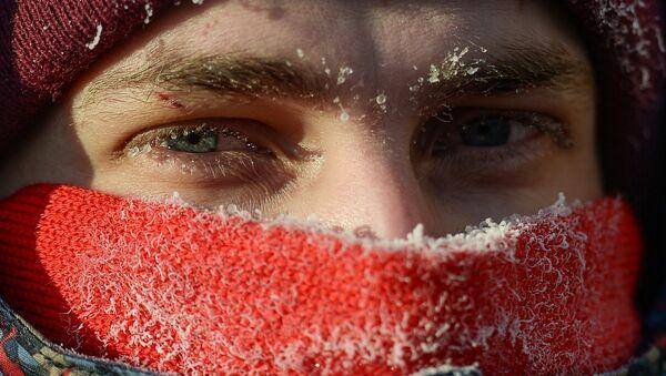 Drugi zimowy maraton rowerowy w Moskwie - Sputnik Polska