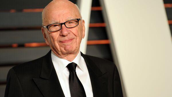 Rupert Murdoch na przyjęciu Vanity Fair - Sputnik Polska