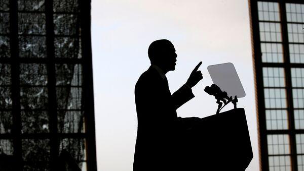 Barack Obama w MacDill Air Force Base - Sputnik Polska