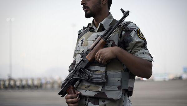 Policyjne siły specjalne w Arabii Saudyjskiej - Sputnik Polska