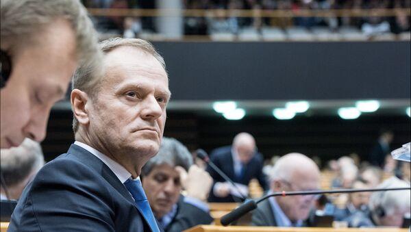 Donald Tusk - Sputnik Polska