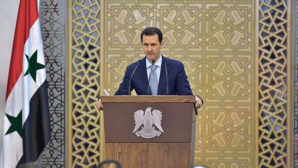 Prezydent Syrii Baszar Asad - Sputnik Polska