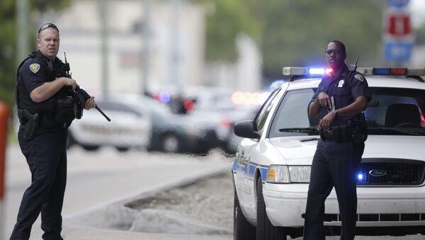 US Police officers. (File) - Sputnik Polska