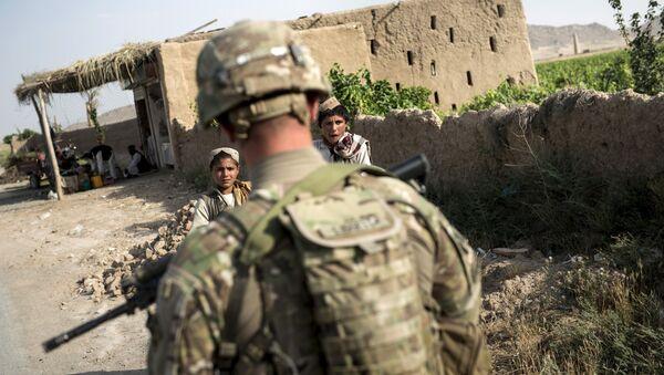 Amerykański żołnierz w Kandaharze - Sputnik Polska