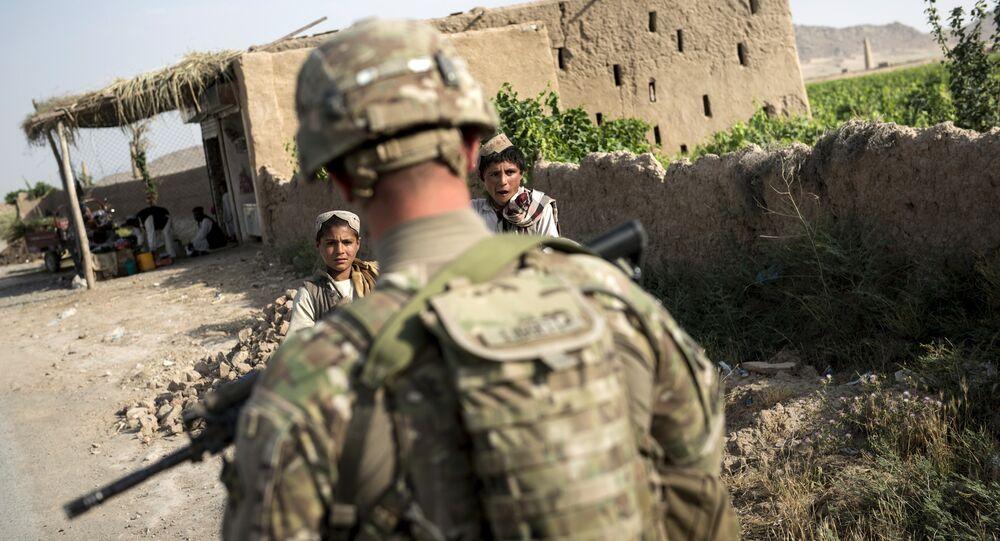 Amerykański żołnierz w Kandaharze