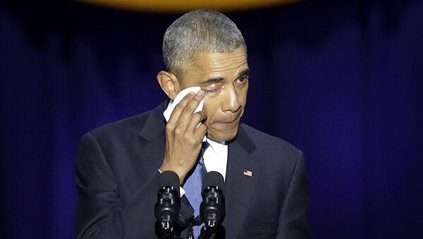 Pożegnalne przemówienie Baracka Obamy w Chicago - Sputnik Polska