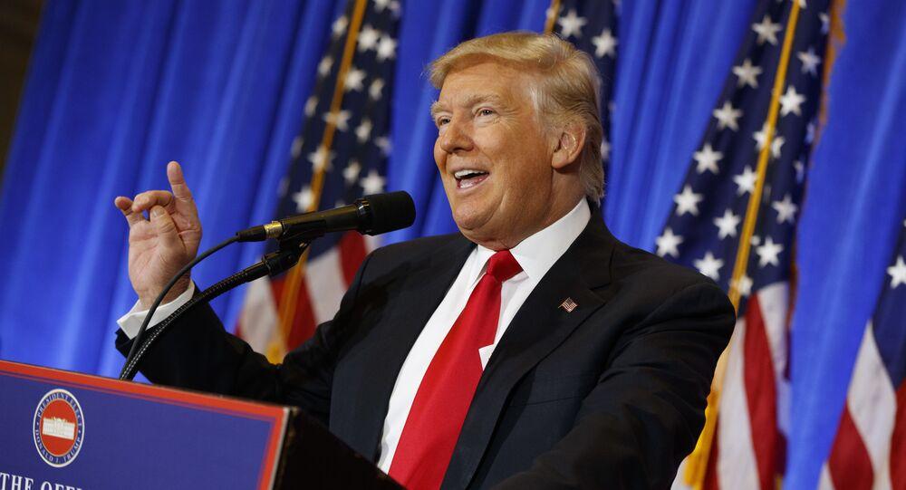 Konferencja prasowa Donalda Trumpa