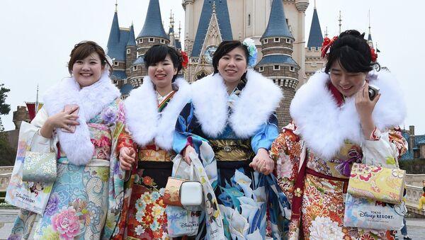 Dzień Pełnoletności, który nazywa się po japońsku Seijin no Hi, jest świętem narodowym. - Sputnik Polska