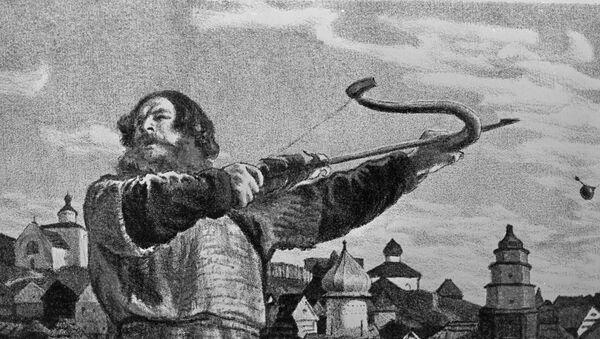 Ilustracja do bajki Ilja Muromiec pokłócił się z księciem Włodzimierzem - Sputnik Polska