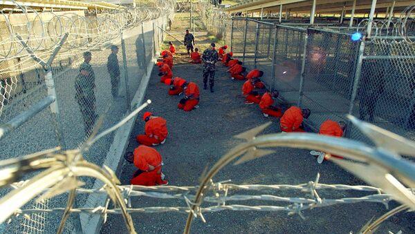 Więźniowie Guantanamo. - Sputnik Polska