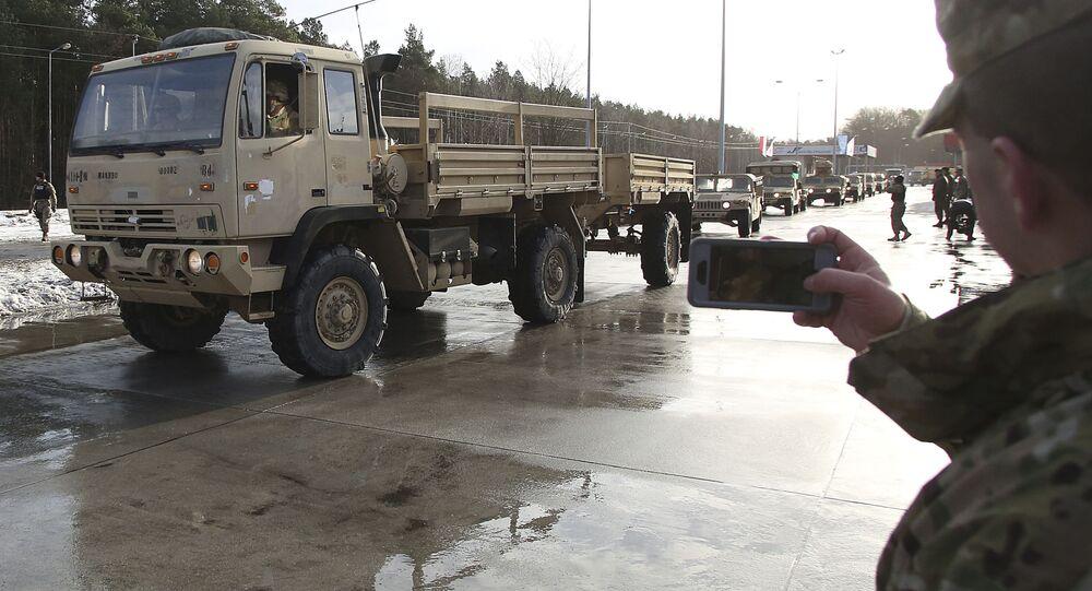 Amerykańska technika wojenna w Polsce, operacja Atlantic Resolve