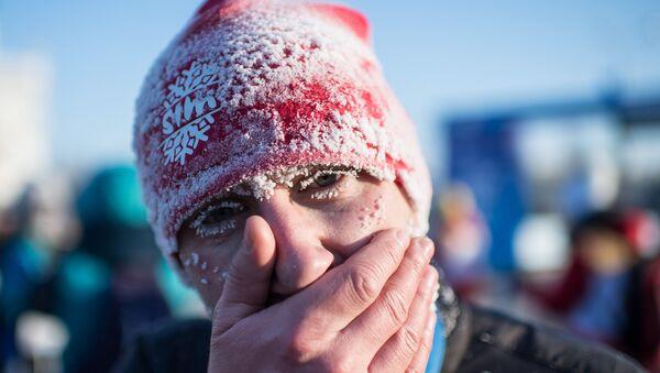 Bożonarodzeniowy półmaraton w Omsku - Sputnik Polska