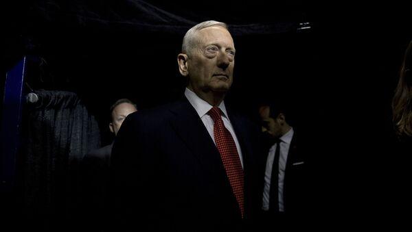 Generał piechoty morskiej James Mattis - Sputnik Polska