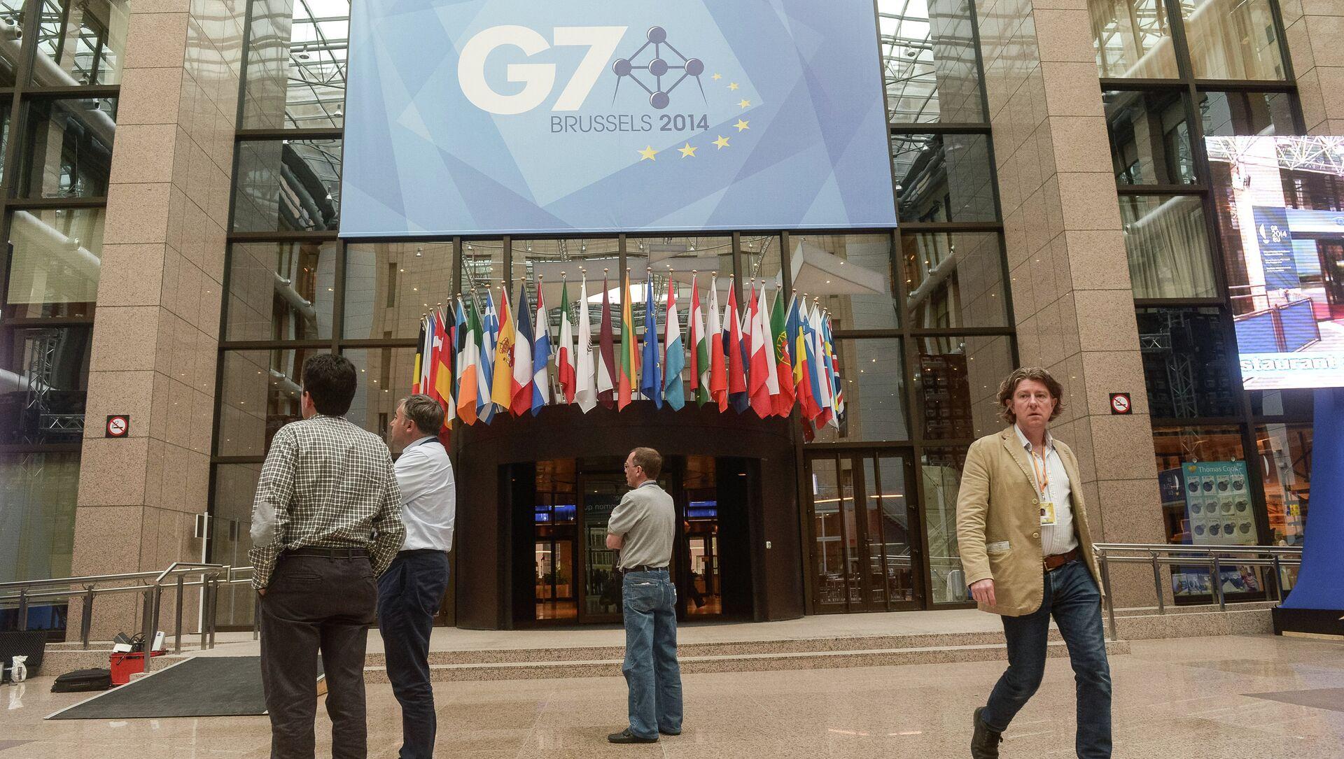 Szczyt G7 - Sputnik Polska, 1920, 01.02.2021