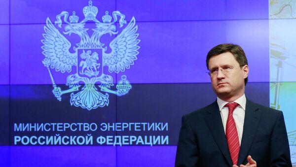 Minister energetyki Rosji Aleksander Nowak - Sputnik Polska