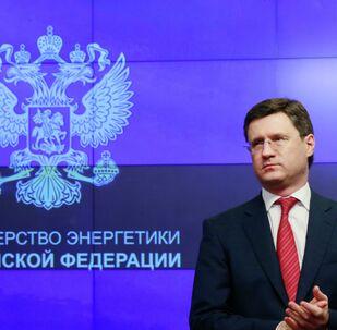 Minister energetyki Rosji Aleksander Nowak