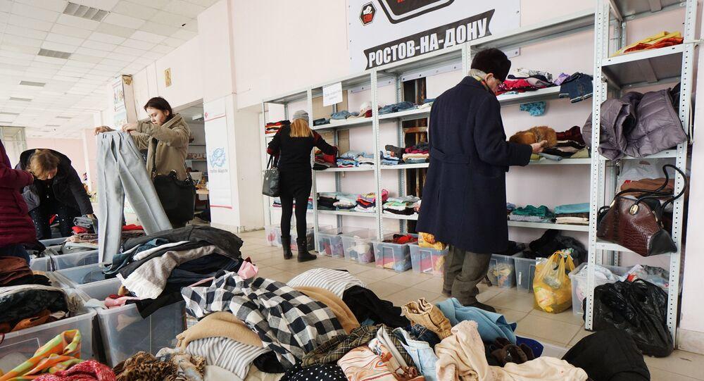 Centrum pomocy uchodźcom w Rostowie nad Donem