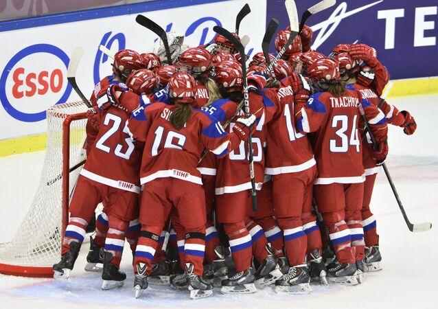 Reprezentacja Rosji w hokeju na lodzie
