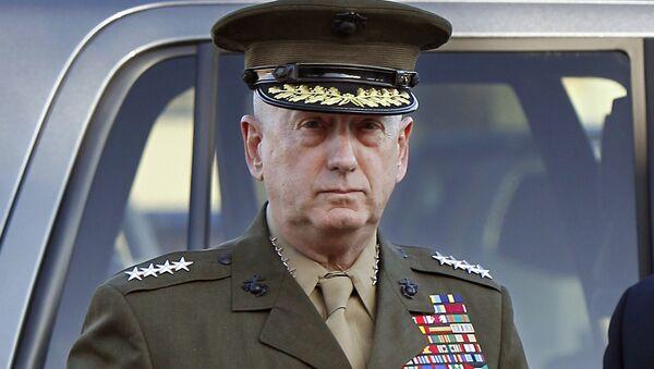 Przyszły szef Pentagonu James Mattis - Sputnik Polska