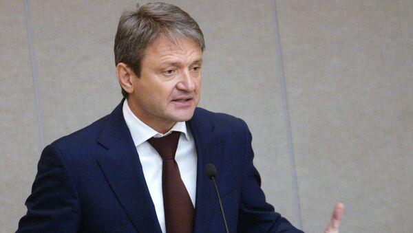 Minister rolnictwa Rosji Aleksander Tkaczow - Sputnik Polska
