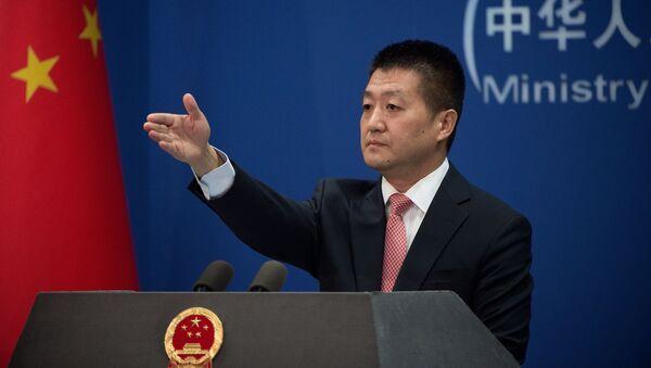 Rzecznik chińskiego MSZ Lu Kang - Sputnik Polska