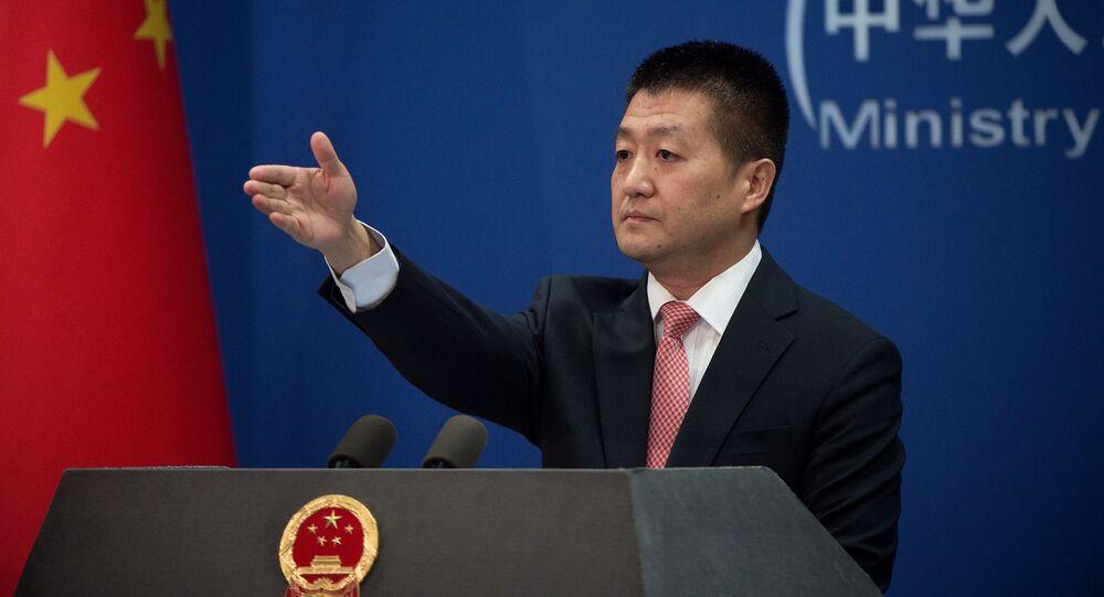 Rzecznik chińskiego MSZ Lu Kang