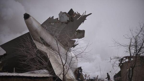 Katastrofa tureckiego Boeinga 747 w okolicy Biszkeku - Sputnik Polska