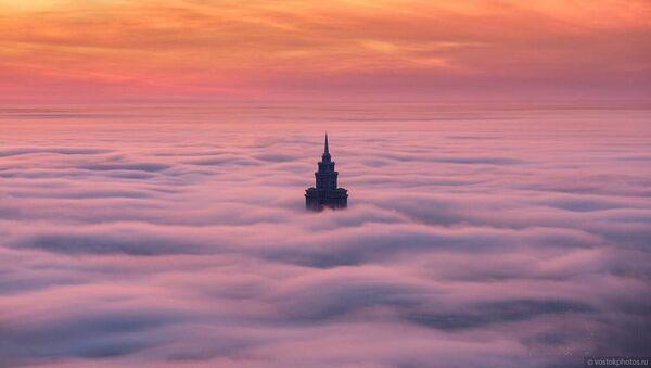 Wieżowiec Triumf-Pałas w Moskwie - Sputnik Polska