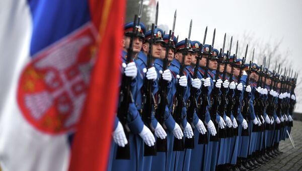 Żołnierze serbskiej armii - Sputnik Polska
