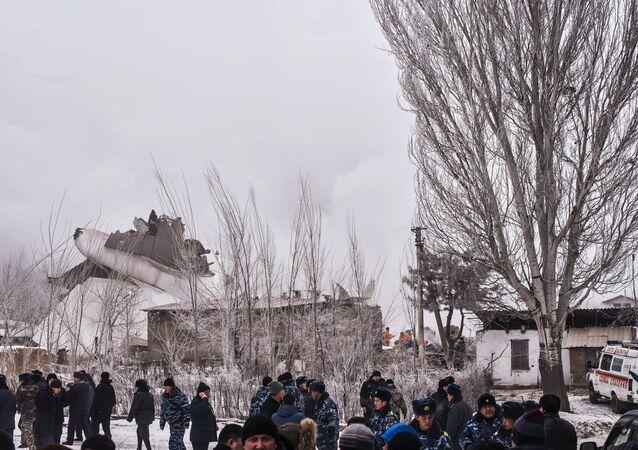 Katastrofa samolotu w Kirgistanie