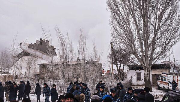 Katastrofa samolotu w Kirgistanie - Sputnik Polska