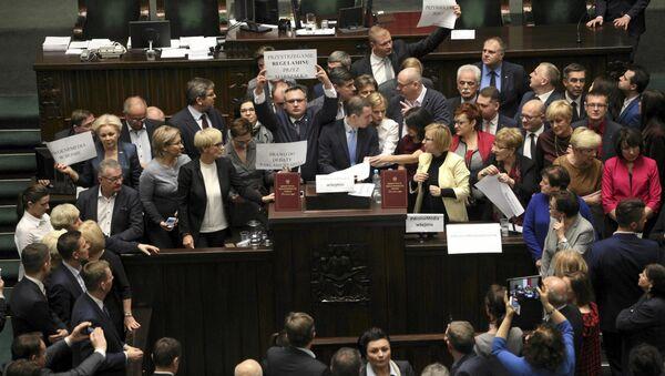 Sejm, 16.12.2016. - Sputnik Polska