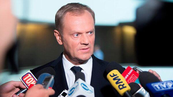 Przewodniczący Rady UE Donald Tusk - Sputnik Polska