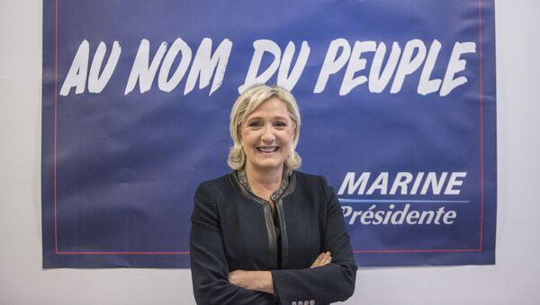 Liderka Frontu Narodowego Marine Le Pen - Sputnik Polska