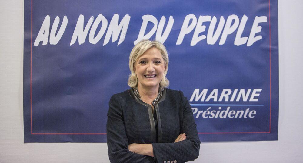 Liderka Frontu Narodowego Marine Le Pen