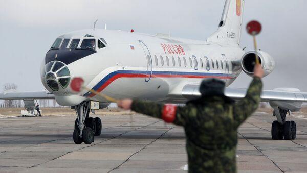 Samolot prezydenta Rosji Władimira Putina - Sputnik Polska