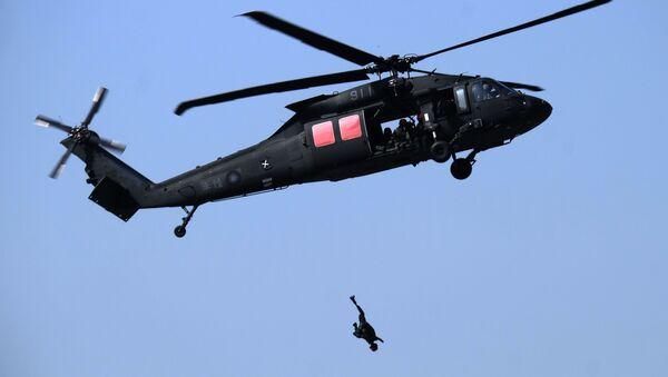 Ćwiczenia wojskowe w Cieśninie Tajwańskiej 2017 - Sputnik Polska