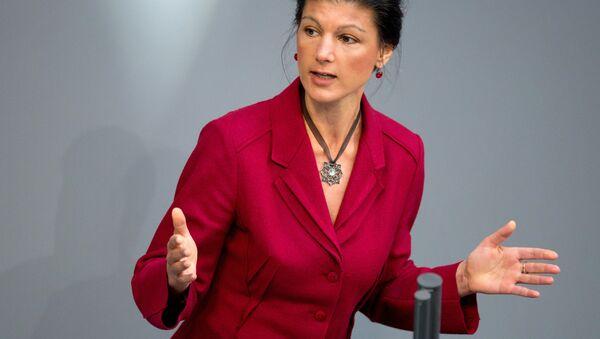 Niemiecka polityk Sahra Wagenknecht - Sputnik Polska