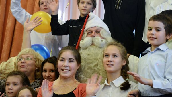 Dzieci z domu dziecka w Jekaterynburgu - Sputnik Polska