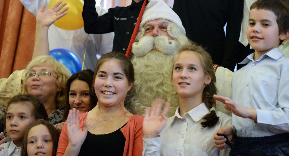 Dzieci z domu dziecka w Jekaterynburgu