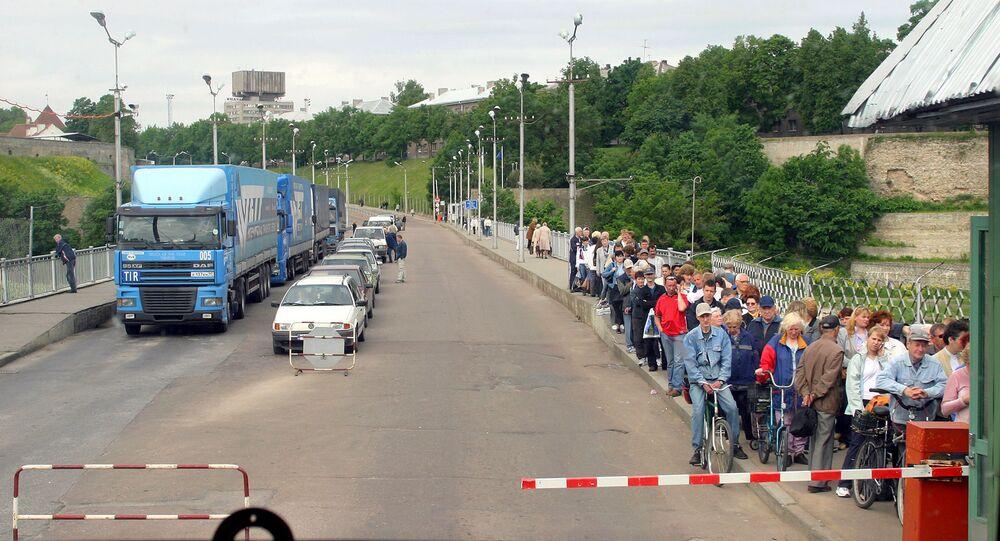 Na rosyjsko-estońskiej granicy
